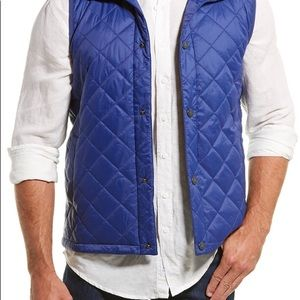 Men's Barbour Vest- NWT- Size L in Blue